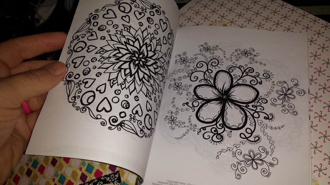 Boho Adult Coloring Books and Art Journals