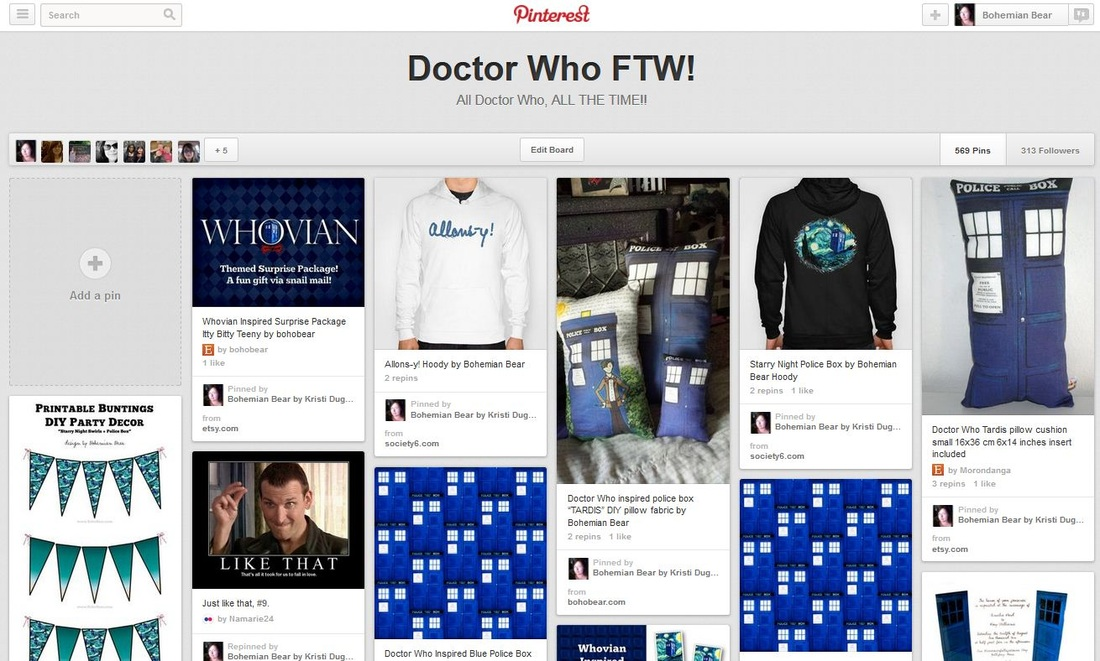 Doctor Who FTW on Pinterest